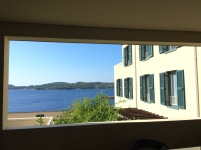 Otel balkonundan Adriyatik
