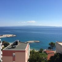Otel odasından Adriyatik