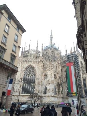 Duomo Katedrali arkası