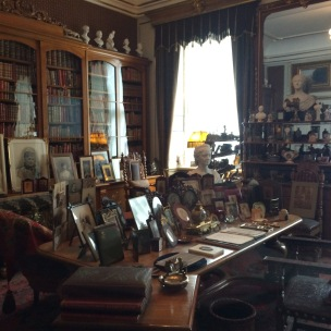 Sarayın çalışma odası